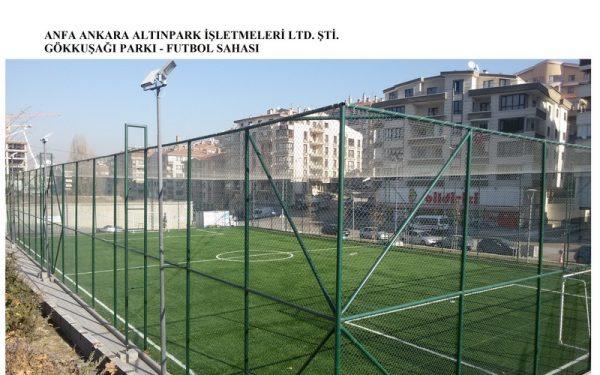 Anfa Altınpark İşletmeleri Mogan Parkı Açık Tenis Kortu